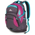High Sierra Waffle Scrimmage Backpack 19.25in. x 13.5in., Mercury, Purple Razz & Tropic Teal