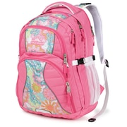 High Sierra Polyester Swerve Backpack 19 x 13 Pink