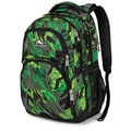High Sierra Polyester Swerve Backpack 19in. x 13in. Green