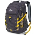 High Sierra Polyester Tactic Backpack 19in. x 12.5in., Mercury, Palette Plaid & Yell-O