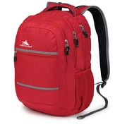 High Sierra Waffle High Sierra Glitch Backpack, Crimson & Charcoal