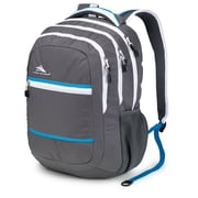 High Sierra Waffle High Sierra Glitch Backpack, Charcoal, White & Blueprint