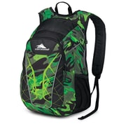 High Sierra Duralite Blaster Backpack 18.5 x 8.2, Cognito, Black & Chartreuse