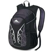 High Sierra Duralite Blaster Backpack 18.5 x 8.2, Black, Mercury & Silver