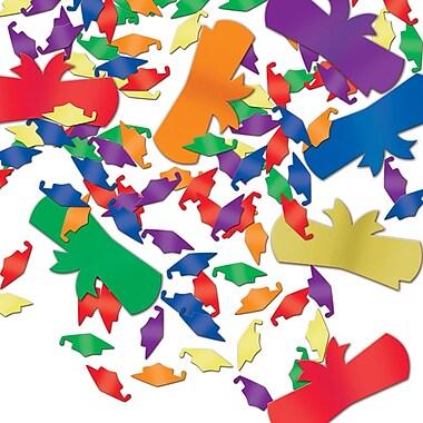 Jumbo Fanci-Fetti Graduate Silhouettes, Multi-Colour, 5/Pack