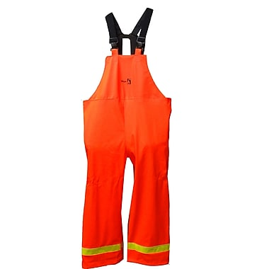 Viking FR PU Waterproof Bib Pant, Fluorescent Orange, Large