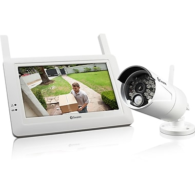 Swann Digital Wireless Security System Monitor and Camera Kit