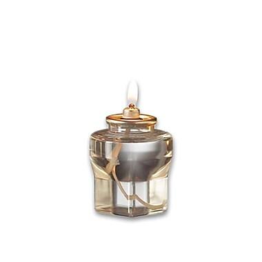 LiquidGlow Liquid Paraffin Wax Candle, 18-Hour, 72/Box