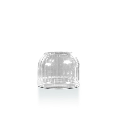 LiquidGlow Top Shade for 00460 Liquid Paraffin Candle, Re-Usable, Clear, Each