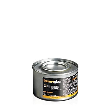 ThermoGlow Chafing Fuel, 2.5-Hour Methanol Blue Gel, 72/Box