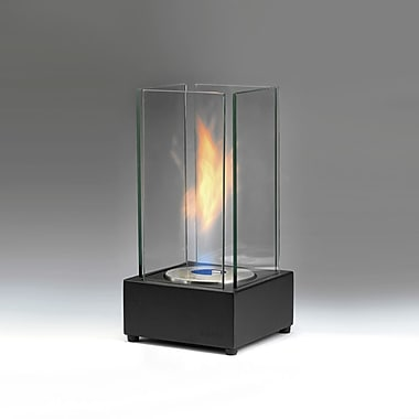 EcoGlow Bioethanol Lamp, Cartier, Matte Black, Each