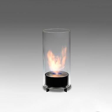 EcoGlow Bioethanol Lamp, Juliette, Gloss Black, Each