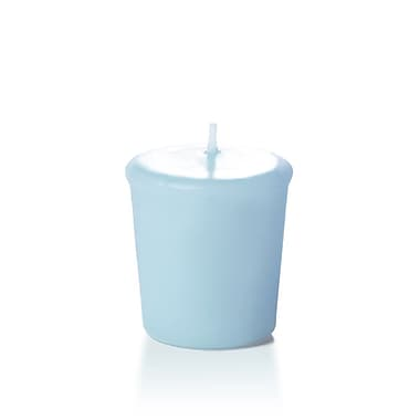 Yummi Unscented Votive Candles, Ice Blue, 15-Hour, 144 Candles/Box