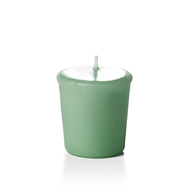 Yummi Unscented Votive Candles, Sage, 15-Hour, 144 Candles/Box
