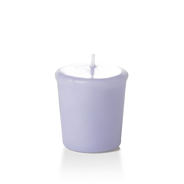 Yummi Unscented Votive Candles, Lilac, 15-Hour, 144 Candles/Box