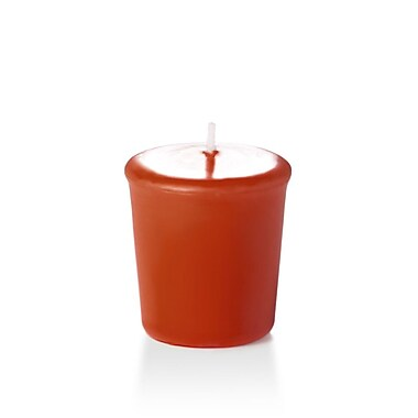 Yummi Unscented Votive Candles, Brick, 15-Hour, 144 Candles/Box