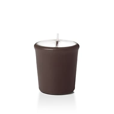 Yummi Unscented Votive Candles, Chocolate, 15-Hour, 144 Candles/Box