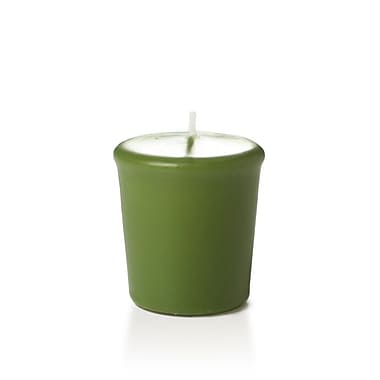 Yummi Unscented Votive Candles, Green Tea, 15-Hour, 144 Candles/Box