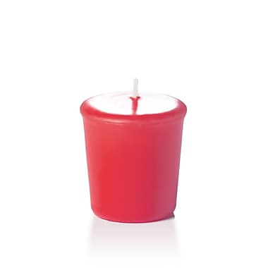 Yummi Unscented Votive Candles, Paradise Pink, 15-Hour, 144 Candles/Box