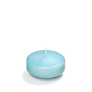 Yummi Floating Candles, Robin Egg Blue, 3