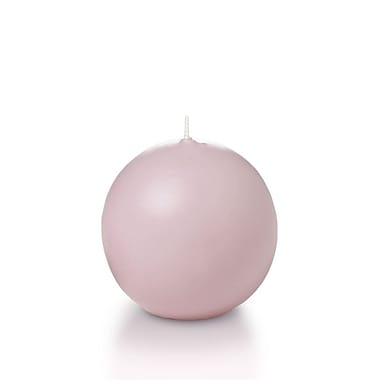 Yummi Sphere / Ball Candles, Light Rose, 2.8