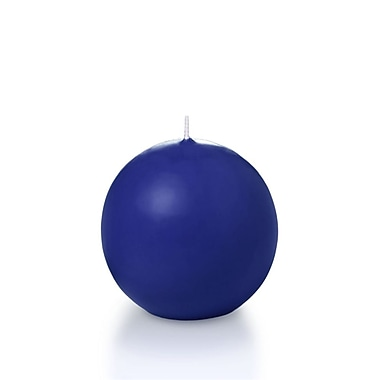 Yummi Sphere / Ball Candles, Royal Blue, 2.8