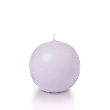 Yummi Sphere / Ball Candles, Lavender, 2.8
