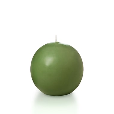 Yummi Sphere / Ball Candles, Green Tea, 2.8