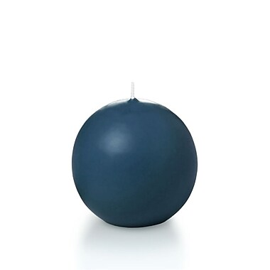 Yummi Sphere / Ball Candles, Sapphire, 2.8