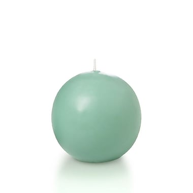 Yummi Sphere / Ball Candles, Tiffany Blue, 2.8