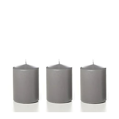 Yummi – Pilier gris, 12 bougies/boîte