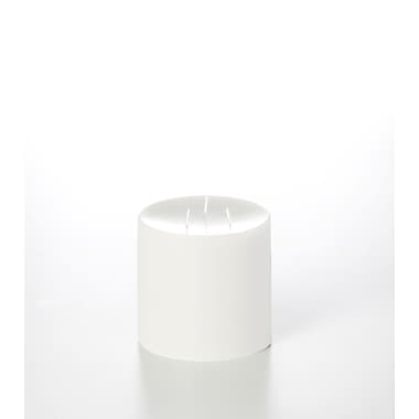 Yummi – Bougies-pilier colonnes inodores, blanc, 5 x 5 po, 4 bougies par boîte