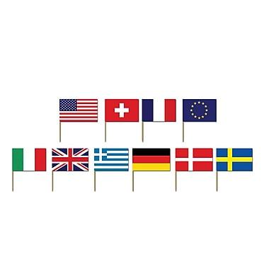 International Flag Picks, 2-1/2