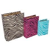 Cheungs 3 Piece Zebra Pattern Bubble Book Box Set