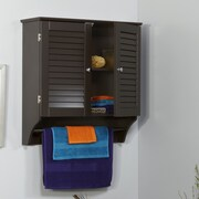 RiverRidge Home Products Ellsworth 23.82'' x 25'' Wall Mounted Cabinet; Espresso