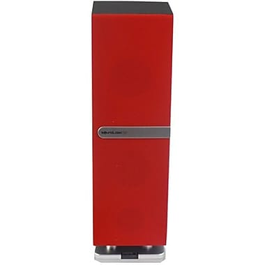 Soundlogic MBTR-2/5967 Mini Tower Speaker with Bluetooth, Red