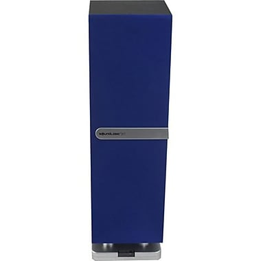 Soundlogic MTBBC-2/5968 Mini Tower Speaker with Bluetooth, Blue