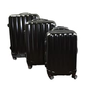 Paderno Travelite 2003BS 3-Piece Luggage Set, Black