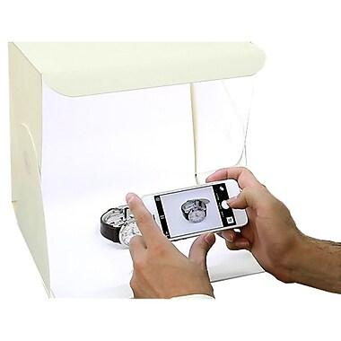 Foldio – Studio portable OMFOLD2, 11,0 larg. x 11,25 prof. x 1,50 haut. (po), blanc