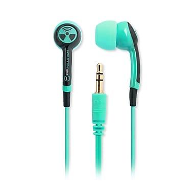 iFrogz – Écouteurs-boutons EarPollution Plugz, menthe