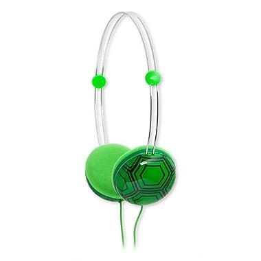 Animatones By iFrogz Volume Limiting Headphones for Kids, Turtle