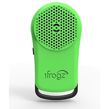 iFrogz Audio Tadpole Wireless Bluetooth Speaker, Black/Green