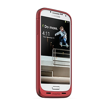 Mophie Juice Pack Battery Case for Samsung Galaxy S4 (2300mAh), Red