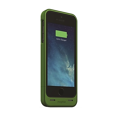 Mophie Juice Pack Helium Battery Case for iPhone 5 (1500mAh), Green