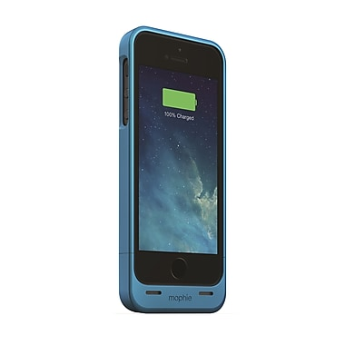 Mophie Juice Pack Helium Battery Case for iPhone 5 (1500mAh), Blue