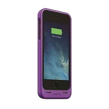 Mophie Juice Pack Helium Battery Case for iPhone 5 (1500mAh), Purple
