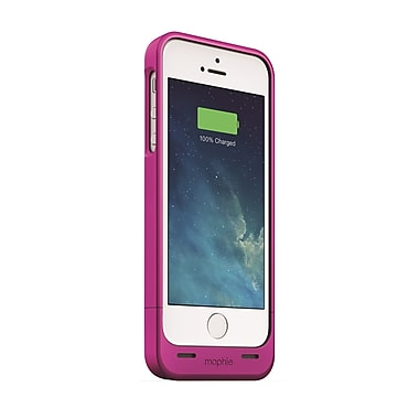 Mophie Juice Pack Helium Battery Case for iPhone 5 (1500mAh), Pink