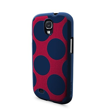X-Doria Samsung Galaxy S4 Dash Icon, Navy Dots