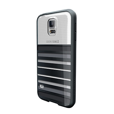 X-Doria Samsung Galaxy S5 Scene Plus Case, Black Stripes