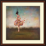 "Amanti Art ""Boundlessness in Bloom"" Framed Art Print by Duy Huynh, 34""H x 34""W"